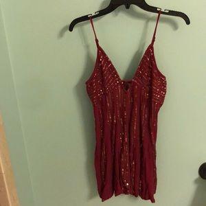 Free people sequin dress